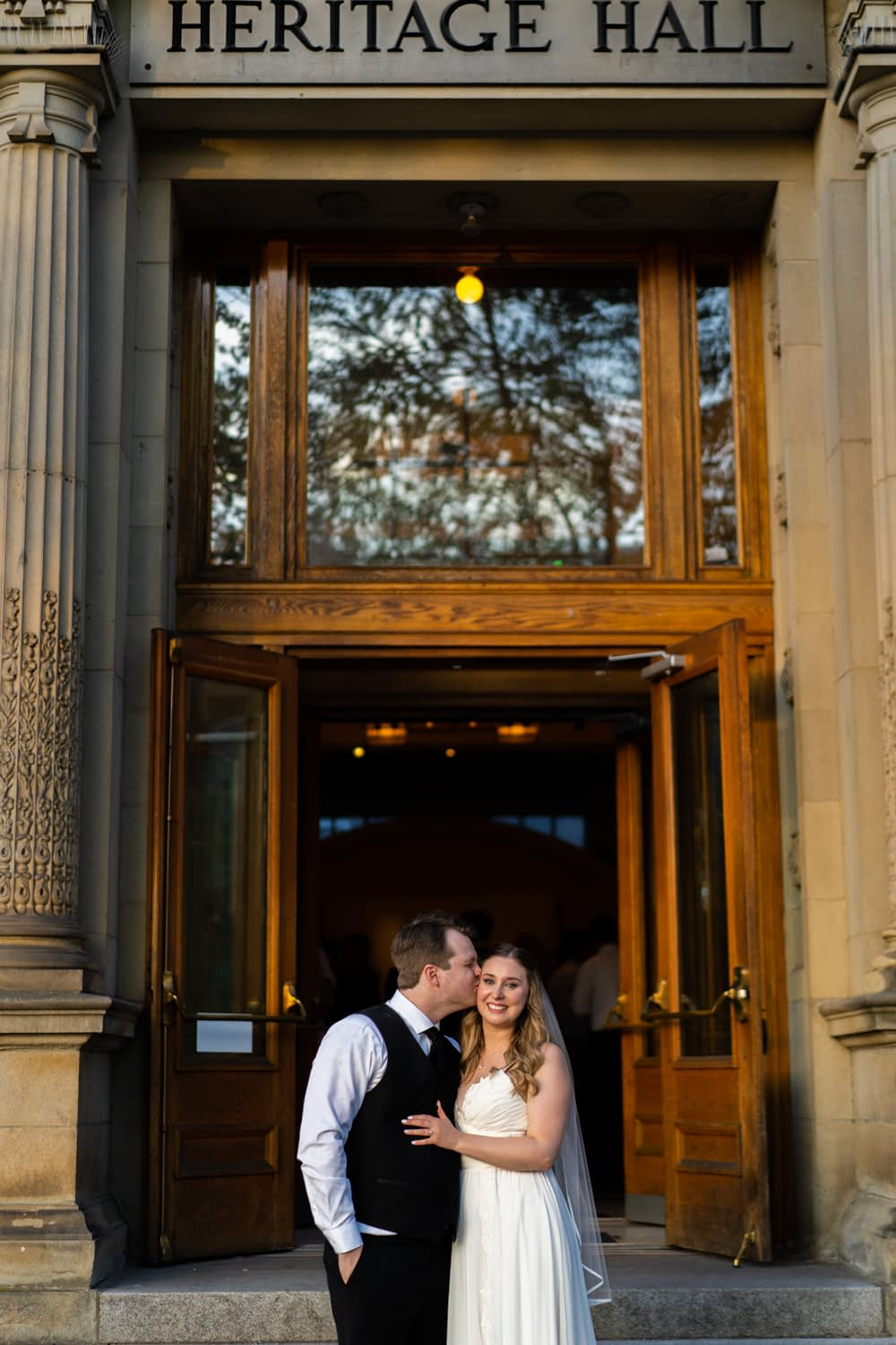 Heritage Hall Wedding