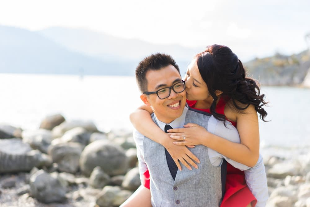 Whytecliff Park & Sea to Sky engagement photos