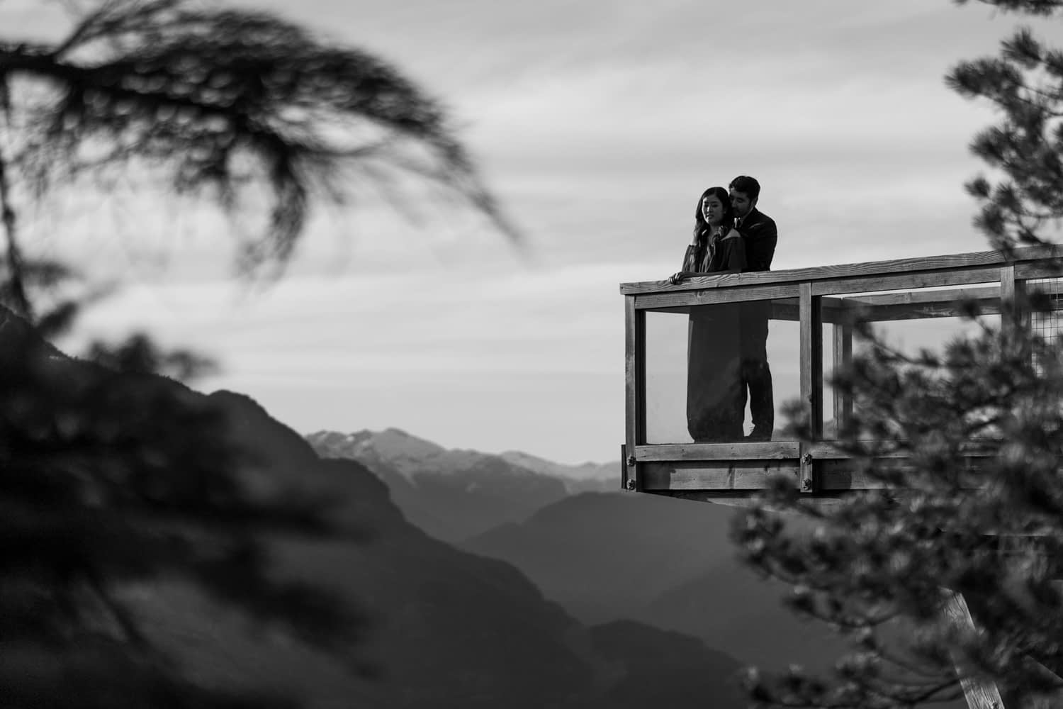Sea to Sky Gondola Engagement Photos