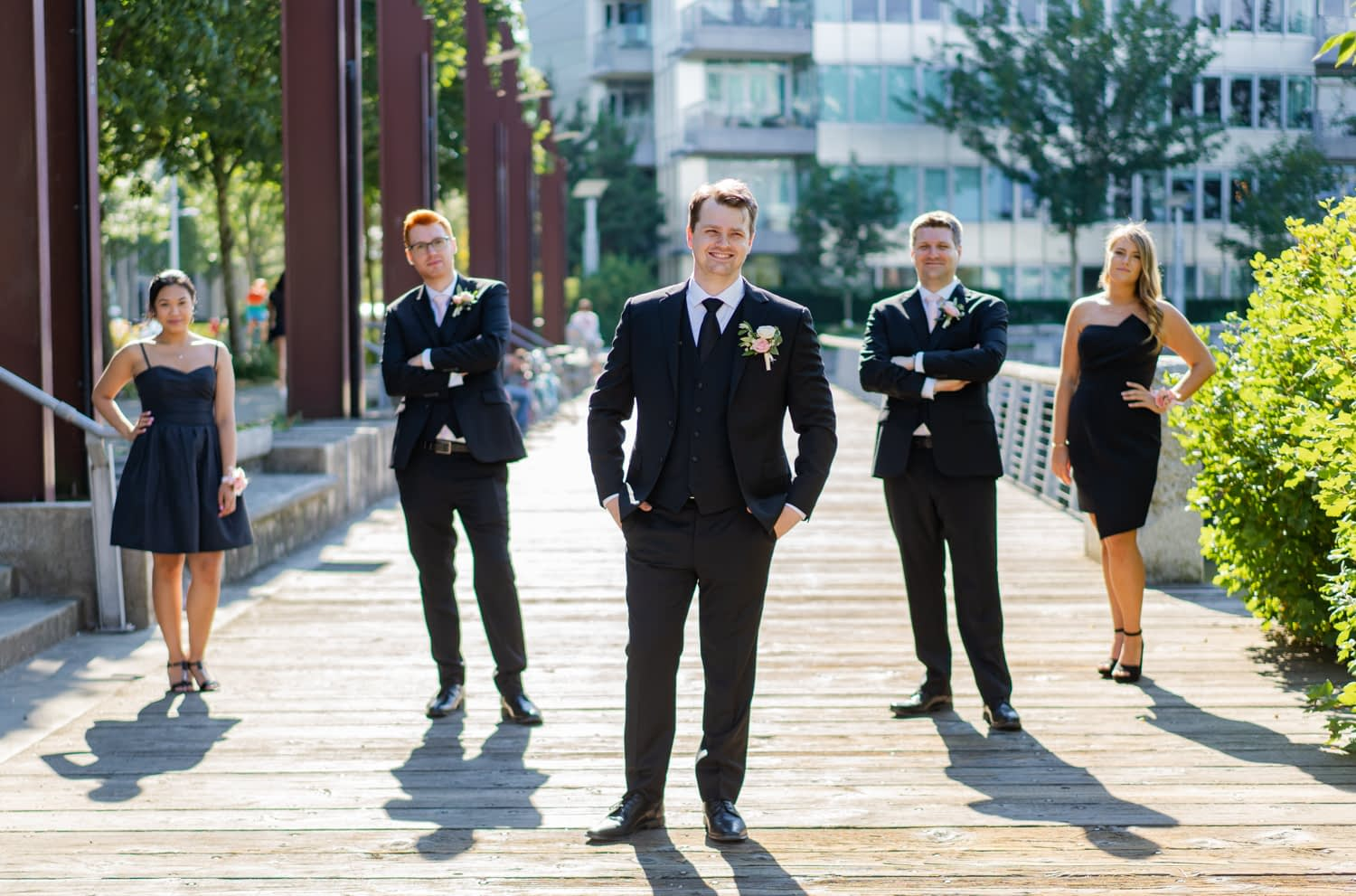 Olympic Village Vancouver Wedding