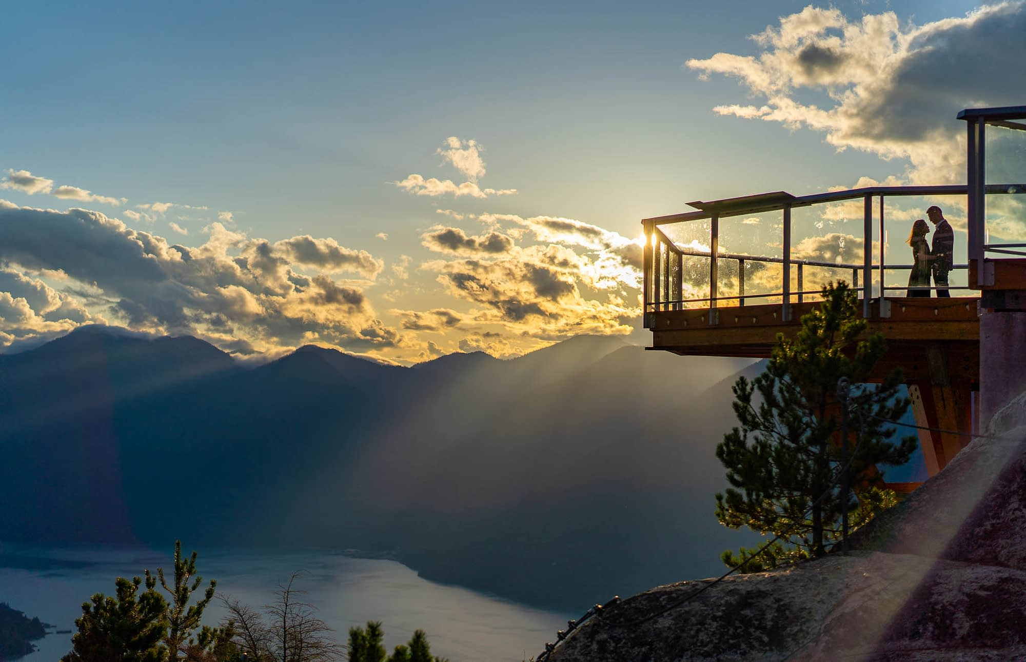 Sea to Sky Gondola Proposal Photographer