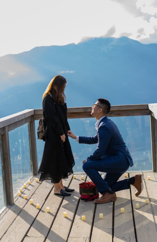 Sea to Sky Gondola Proposal on the viewing platform