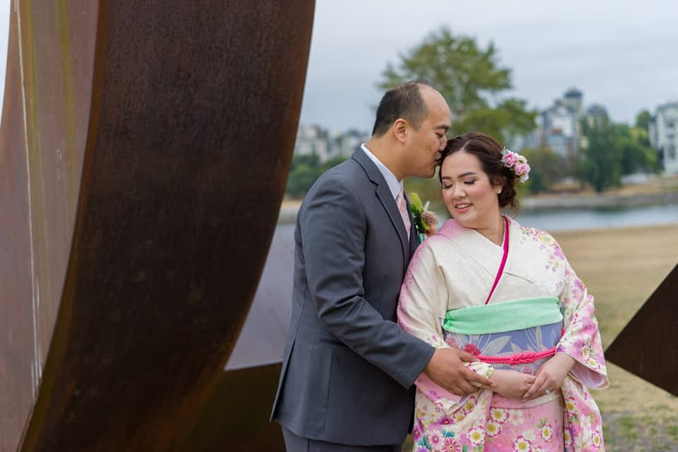 Bridal portrait at the Gate to the Northwest Passage