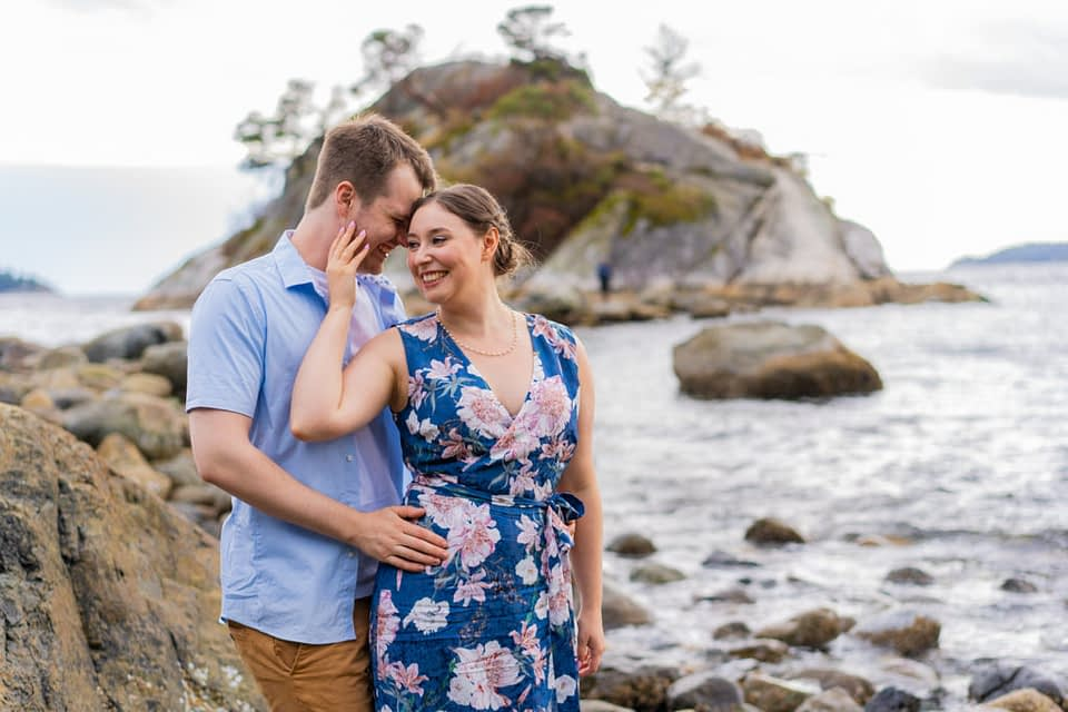 Whytecliff Park Engagement Photos