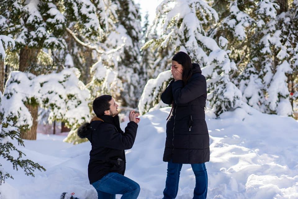 North Vancouver Proposal Engagement Photos